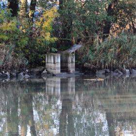 momentka stavidla u rybníka v záhlinicích