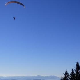 Létání na Radhošti