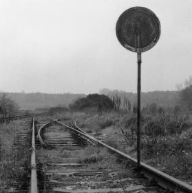 Tudy už vlak neprojede...