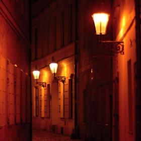 Večerní Praha...včera večer :-)