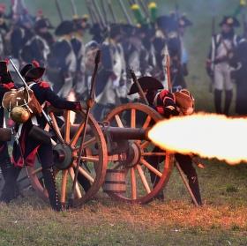 Dělostřelecká příprava na slavkovském bojišti