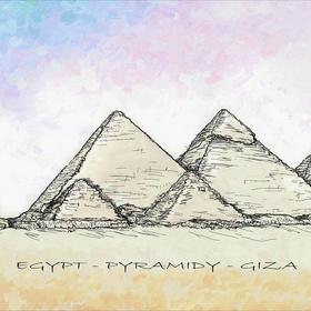 Giza Pyramidy