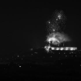Novoroční ohňostroj netradičně