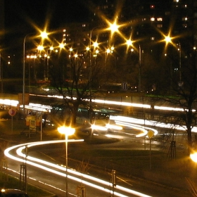 Noční Ostrava-Hrabůvka