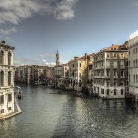 Benátský most z druhé strany