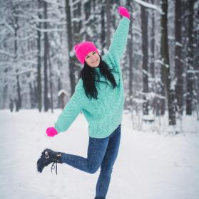 Huráá sníh!
