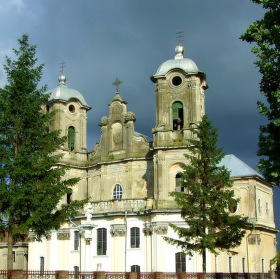 Kostel v Horodence, Ukrajina