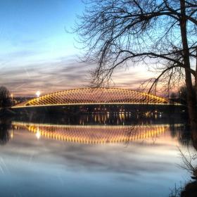Rozsvěcení Trojského mostu