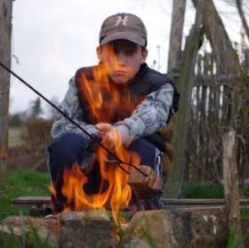 ohňový mužíček