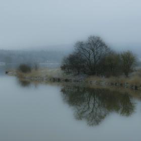 Štěpánský rybník aneb lednová melancholie