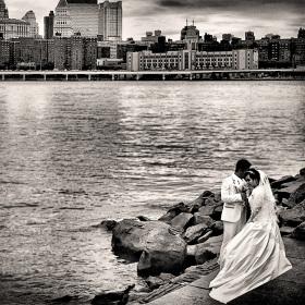svatba na Manhattnu