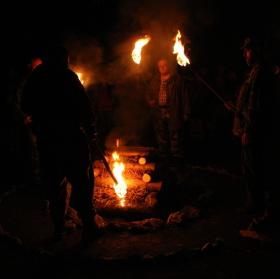 Falešný oheň