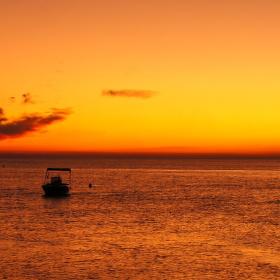 Krátce po západu slunce