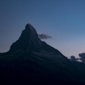 Matterhorn prvovýstup