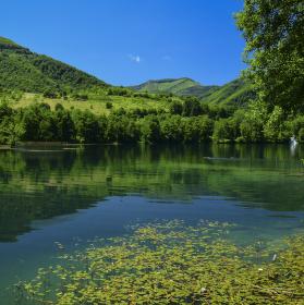 Klid na jezeru