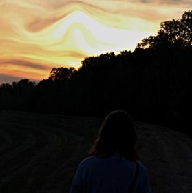Barevná obloha