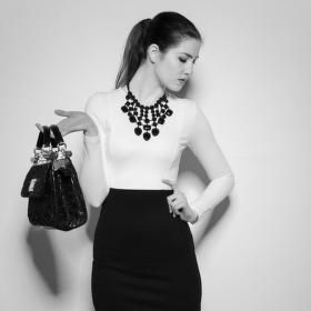 Černobílá móda