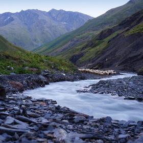 podvečer na Kavkaze