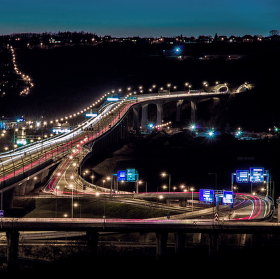 Radotínský most Pražského okruhu
