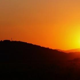 ...sunset...