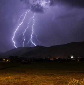 Bouřka na Hejnicemi