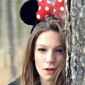 Myš v lese