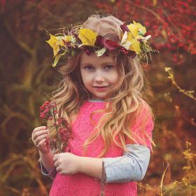 Natálka - podzimní víla