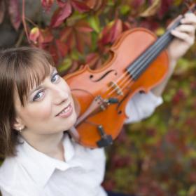 Violin II. barevně
