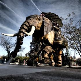 Mechanický slon 2