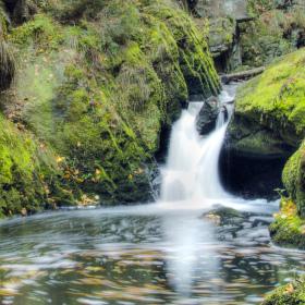 Doubravský vodopádek