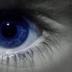 Modrý pohled