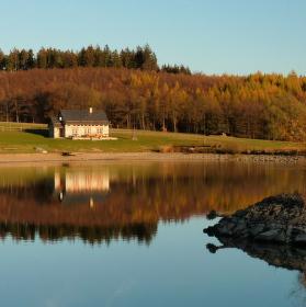 Listopadové usínání Oderských vrchů