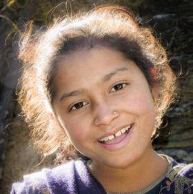 Amita, prodavačka pomerančů