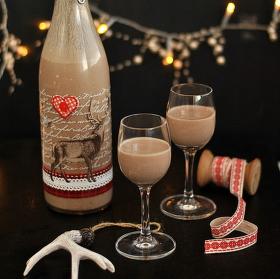 Vánoční čokoládový likér