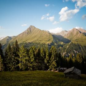 Posezení v Hohe Tauern