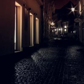 Ulice nočního Brna