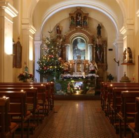 vánoční kostel