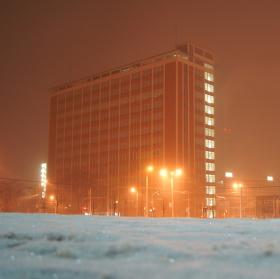 Sněžení ve Zlíně