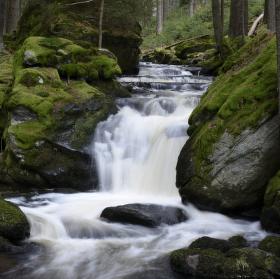 Vodopády Mže - Branka