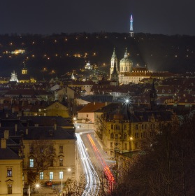 views of Prague
