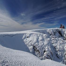 Sněžné jámy v zimě 5.