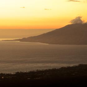 Západ slunce nad Maui