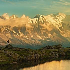 Pokus o výstup na Mont Blanc.
