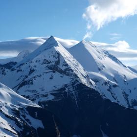 Alpy v Květnu