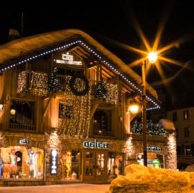 Noční Val d'Isère