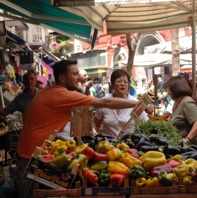 tržnice v Neapoli