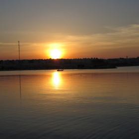 Západ slunce nad Hurghádou