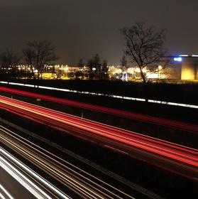 Světla dálnic
