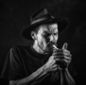 Šporgy a jeho přestávka s cigaretkou