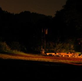 Noční údolí